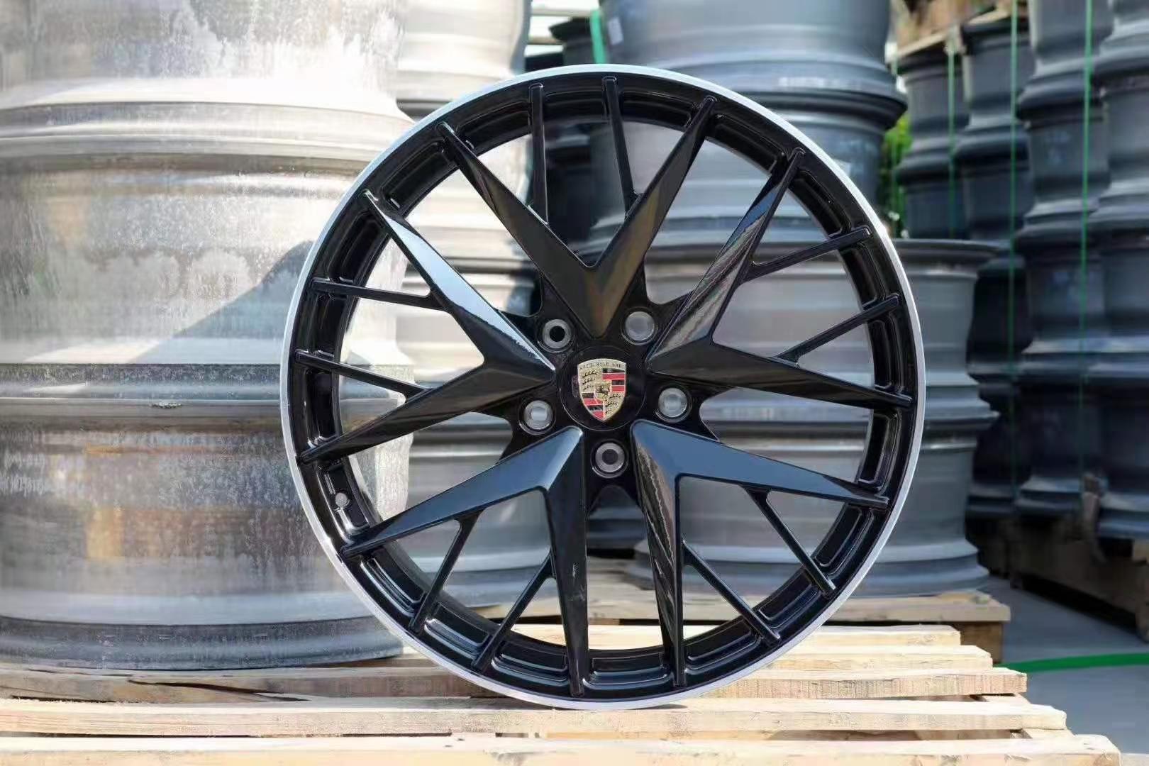 适配 保时捷帕拉梅拉 20寸锻造轮毂 6061航空铝材